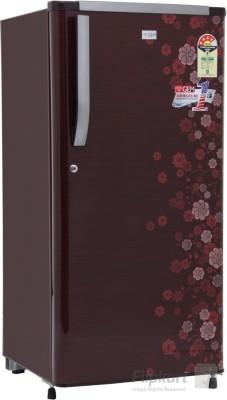GEM 180 L Direct Cool Single Door Refrigerator (GRDN-2054 SRTP, PCM Floral (Spicy Red))