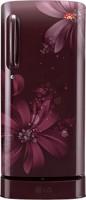 LG 235 L Direct Cool Single Door Refrigerator(GL-D241ASAN, Scarlet Aster)