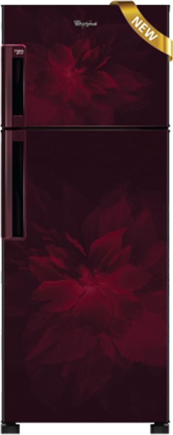 View Whirlpool 245 L Frost Free Double Door Refrigerator(NEO FR258 ROY 2S REGALIA, Wine Regalia, 2017)  Price Online