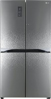 LG 725 L Frost Free Side by Side Refrigerator(GR-M24FWAHL, Shiny Mosaic)