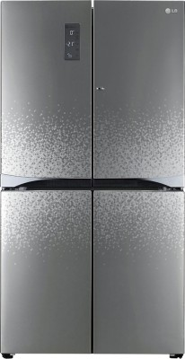 LG GR-M24FWAHL 725 Litres Side By Side Door Refrigerator (Shiny Mosaic)