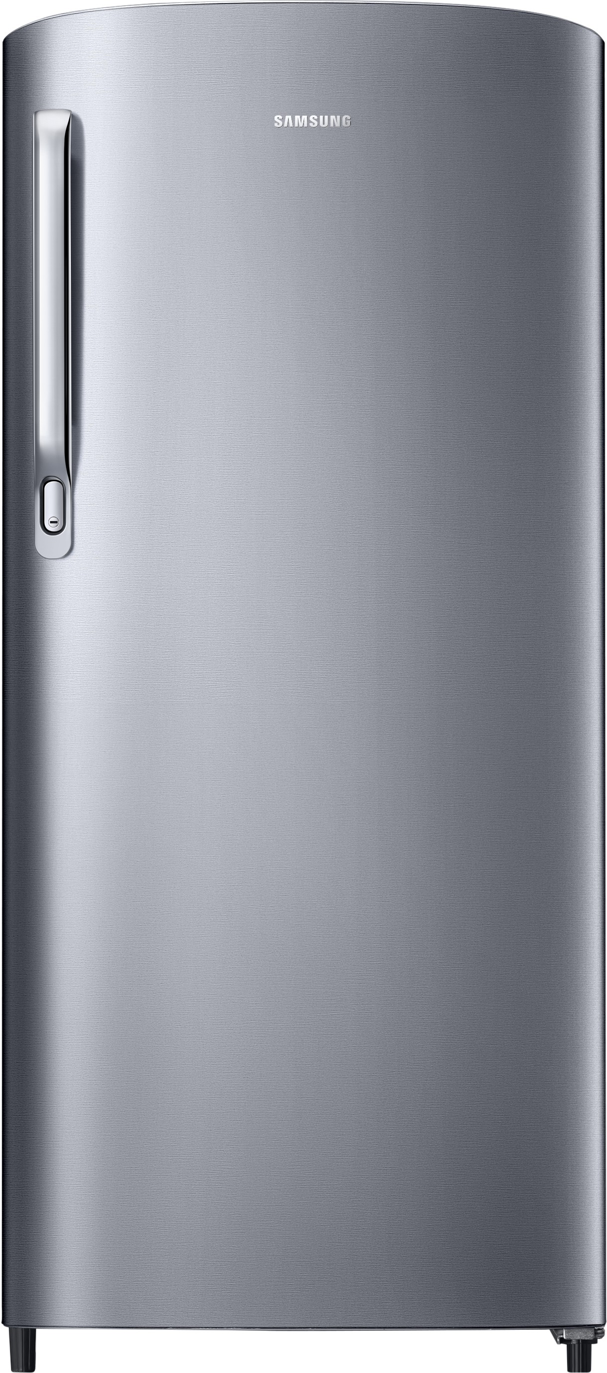 View SAMSUNG 192 L Direct Cool Single Door Refrigerator(RR19M1723S8/HL, Elegant Inox, 2017)  Price Online