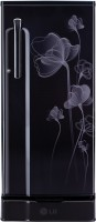 LG 190 L Direct Cool Single Door Refrigerator(GL-D205KVHN, Velvet Heart)