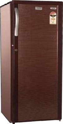 Electrolux 170 L Direct Cool Single Door Refrigerator (EB183P, Burgundy Stripes)