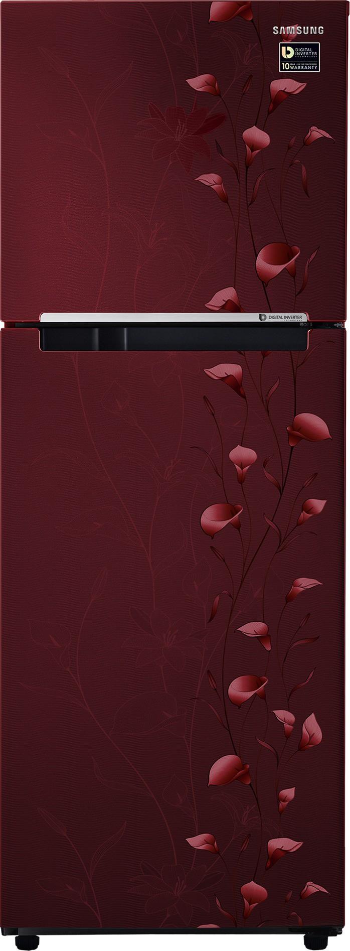 SAMSUNG 253 L Frost Free Double Door Refrigerator(RT28M3022RZ/HL, Tender Lily Red, 2017) (Samsung) Tamil Nadu Buy Online