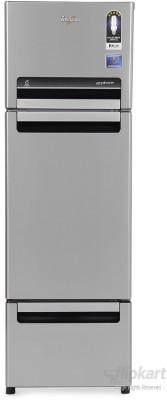 Whirlpool FP 283D Royal Protton 260 Litre Triple Door Refrigerator (Alpha Steel)