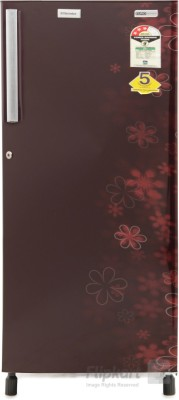 Electrolux 190 L Direct Cool Single Door Refrigerator(EJ203LTEBE, EURO Burgundy Eva)
