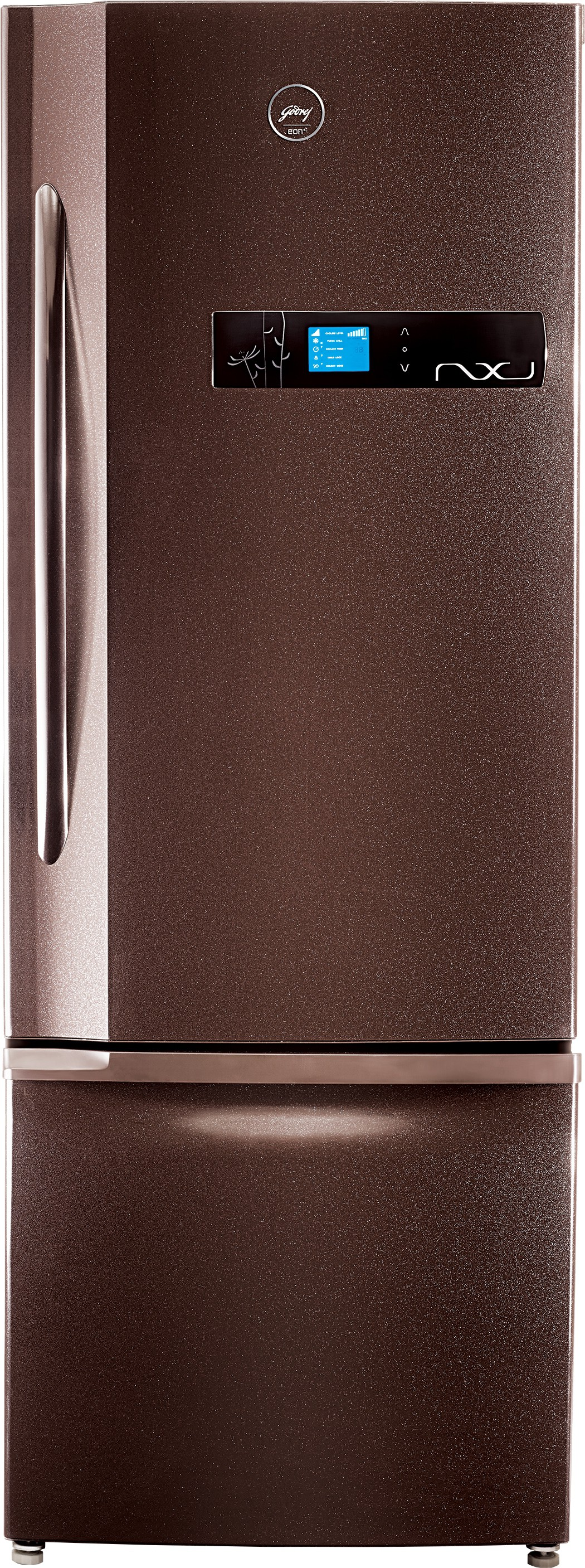 View Godrej 380 L Frost Free Double Door Refrigerator(RB EON NXW 380 SD, Cosmos, 2016)  Price Online