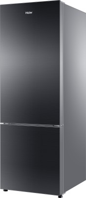 Haier 320 L Frost Free Double Door Refrigerator (HRB-3404PKG-R, Black Glass)