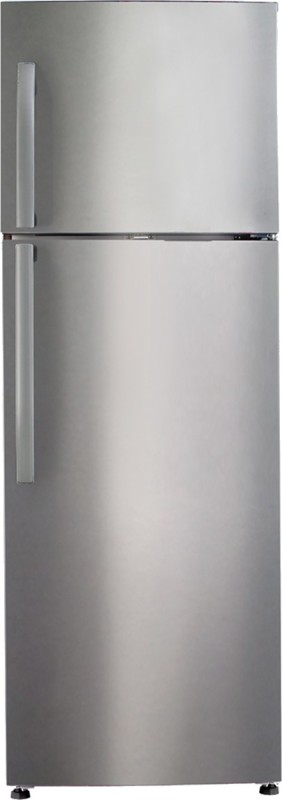 Haier 335 L Frost Free Double Door Refrigerator(HRF-3554PSS-R, Stainless Steel)