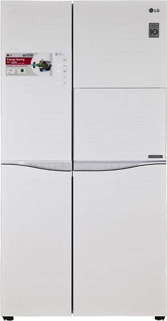 View LG 675 L Frost Free Side by Side Refrigerator  Price Online