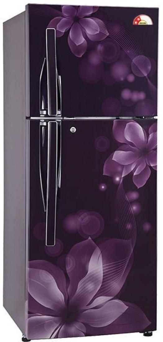 LG 255 L Frost Free Double Door Refrigerator(GL-Q282RPOY, Purple Orchid, 2017) (LG)  Buy Online