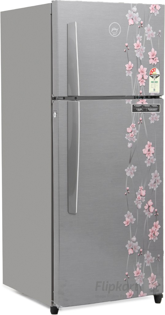 Godrej 241 L Frost Free Double Door Refrigerator(RT EON 241 P 3.4, Silver Meadow, 2016)   Refrigerator  (Godrej)