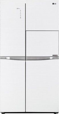 LG GC-C247UGUV 675L Side-By-Side Refrigerator (Aria White)