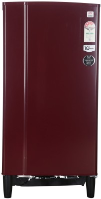 Godrej 185 L Direct Cool Single Door Refrigerator(RD EDGE 185 CW 4.2, Wine Red)