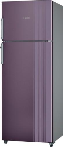 View Bosch 348 L Frost Free Double Door Refrigerator(KDN43VR30I, Violet) Price Online(Bosch)