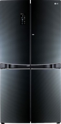 LG GR-D34FBGHL 1001 Litres Side by Side Door Refrigerator