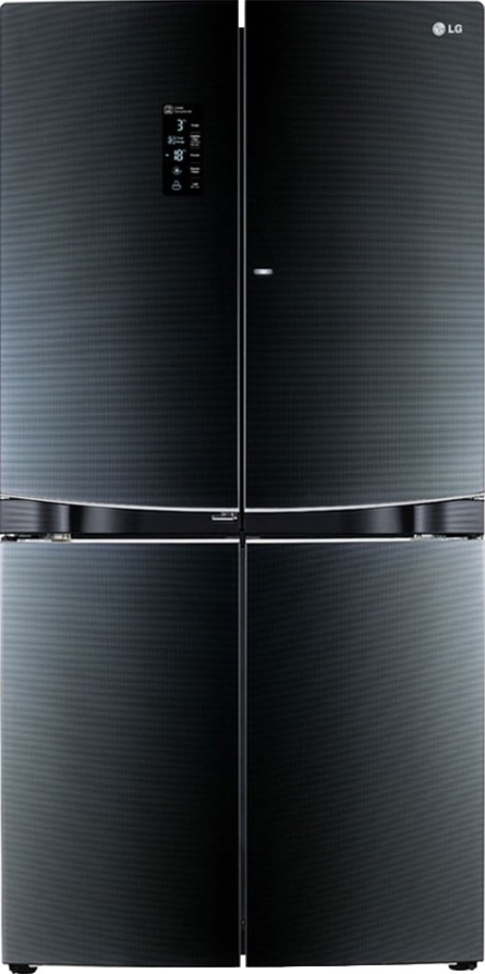 View LG GR-D34FBGHL 1001 L Side by Side Refrigerator  Price Online