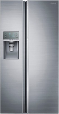 Samsung RH77J90407H 838 Litre Side-By-Side Door Refrigerator (Solid Metal)