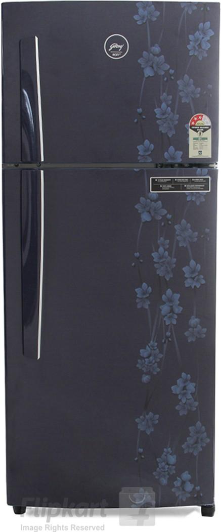 Godrej 241 L Frost Free Double Door Refrigerator(RT EON 241 P 3.4, Denim Petals)   Refrigerator  (Godrej)