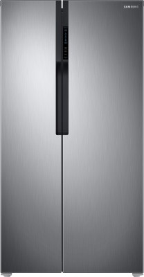 SAMSUNG 604 L Frost Free Side by Side Refrigerator(RS55K5010S9/TL, Refined Inox(Matt Doi Metal), 2017)