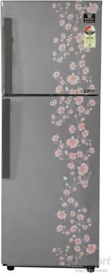 Samsung RT27HAJSALX/TL 253 L Double Door Refrigerator (Orcherry Peach Silver)
