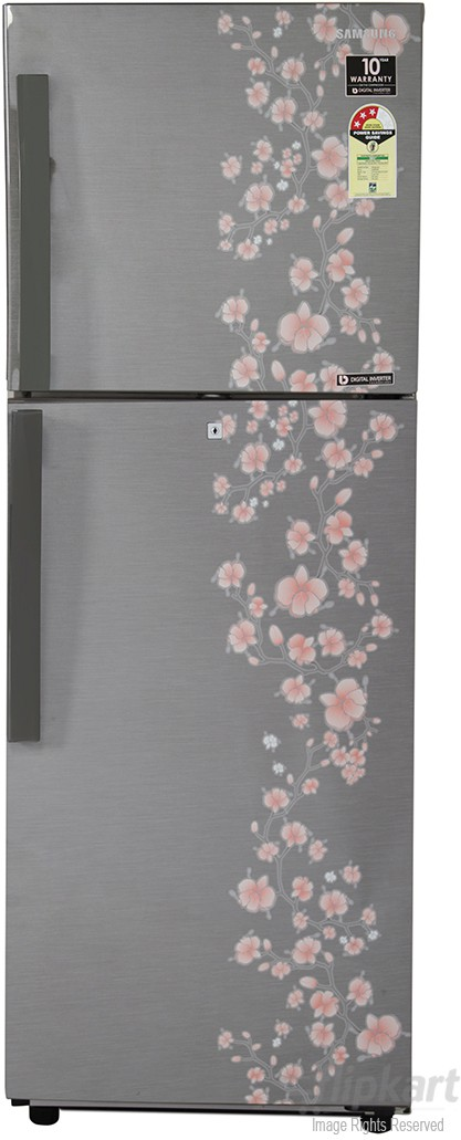 View Samsung RT27HAJSALX/TL 253 L Double Door Refrigerator  Price Online