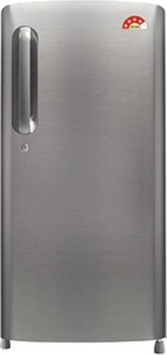 LG 190 L Direct Cool Single Door Refrigerator(GL-B201APZW, Shiny Steel, 2016)
