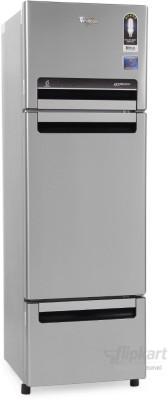 Whirlpool FP 313D PROTTON Royal (Alpha Steel) 300 Litres Triple Door Refrigerator