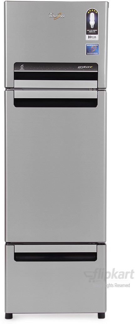 View Whirlpool FP 313D PROTTON ROY 300 L Triple Door Refrigerator  Price Online