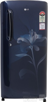 LG GL-B201AMLN/ASLN 190 Litres 5S Single Door Refrigerator (Lily)