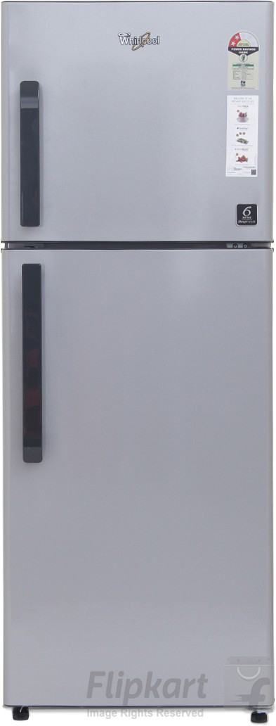 Whirlpool 245 L Frost Free Double Door Refrigerator(NEO FR258 CLS PLUS 2S, Swiss Silver, 2017)   Refrigerator  (Whirlpool)