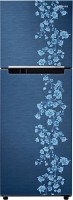 SAMSUNG 253 L Frost Free Double Door Refrigerator(RT27JARZEPX/TL, Orcherry Pebble Blue)
