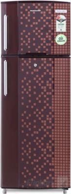 Kelvinator 235 L Frost Free Double Door Refrigerator (KA242PMX, Maroon Pixel)