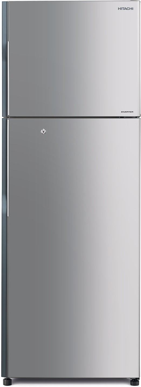 View Hitachi 318 L Frost Free Double Door Refrigerator(R-H350PND4K (SLS), Lined Metallic Silver, 2016) Price Online(Hitachi)