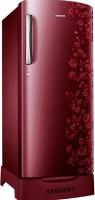 SAMSUNG 192 L Direct Cool Single Door Refrigerator(RR19H1825RY/TL, Sanganeri Ring Red)