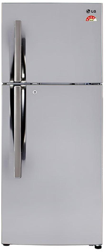 LG 260 L Frost Free Double Door Refrigerator(GL-T292RPZX, Shiny Steel, 2017) (LG)  Buy Online