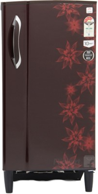 Godrej 185 L Direct Cool Single Door Refrigerator (RD EDGE 185 E3H 4.2, Berry Bloom)