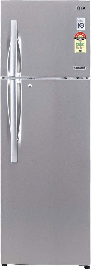 View LG GL-D292JNSZ 258 L Double Door Refrigerator  Price Online