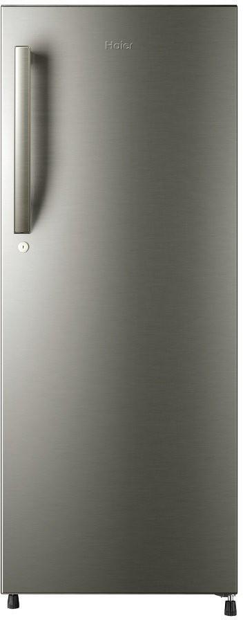 View Haier HRD-2406BS-H 213 L Single Door Refrigerator  Price Online