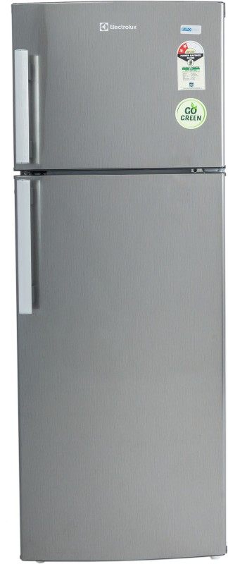 electrolux 190 l frost free double door ep202lsvhfb brushed hairline