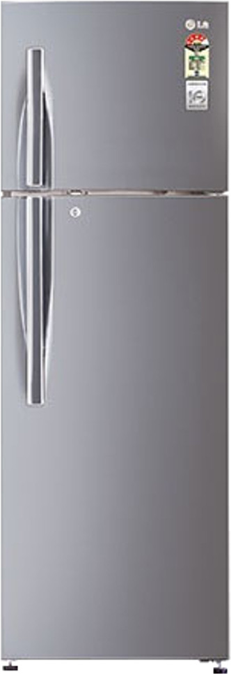 View LG GL-D372RLJM(PZ) 335 L Double Door Refrigerator  Price Online