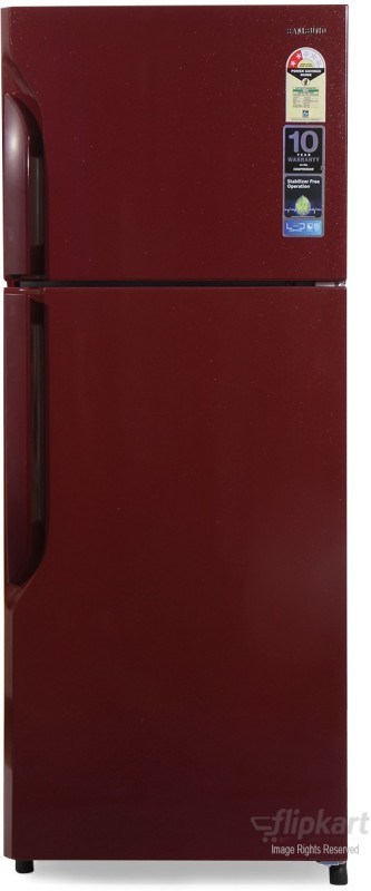 Samsung 255 L Frost Free Double Door Refrigerator(RT26H3000RH, Scarlet Red)