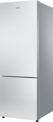 Haier 320 L Frost Free Double Door Refrigerator (HRB -3404PSG-R, Silver Glass)