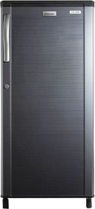 Electrolux 190 L Direct Cool Single Door Refrigerator(REF EBP203KS-FDA, Black Stripes)