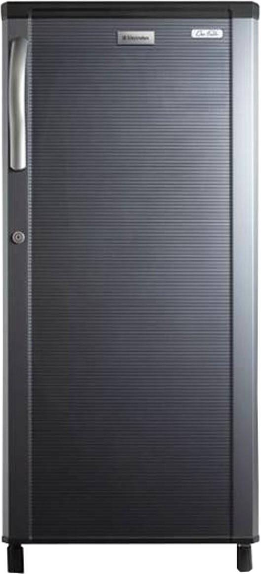 Electrolux 190 L Direct Cool Single Door Refrigerator(REF EBP203KS-FDA, Black Stripes)