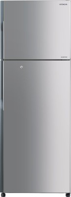 Hitachi 318 L Frost Free Double Door Refrigerator (R-H350PND4K (INX), Inox)