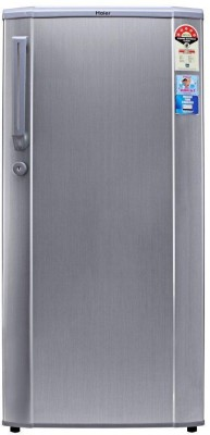 Haier 190 L Direct Cool Single Door Refrigerator (HRD-2105CS -H, Hairline Silver)