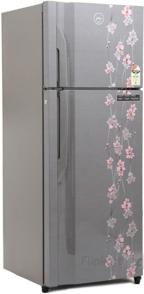 Godrej 311 L Frost Free Double Door Refrigerator(RT EON 311 P 3.4, Silver Meadow, 2016)   Refrigerator  (Godrej)