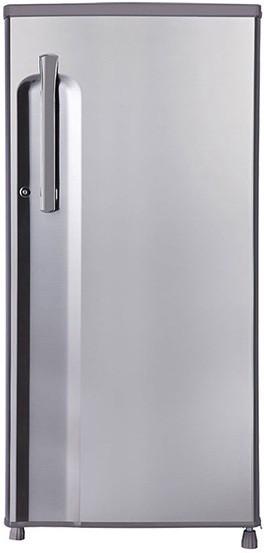 View LG 188 L Direct Cool Single Door Refrigerator(GL-B191KPZU, Shiny Steel, 2016)  Price Online